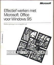 Effectief werken met Microsoft Office voor Windows 95
