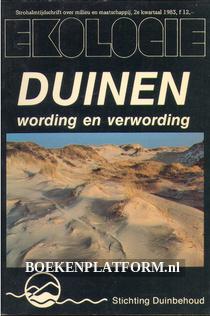 Duinen , wording en verwordering