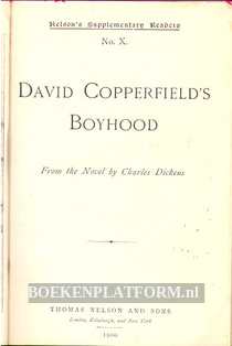David Copperfield's Boyhood
