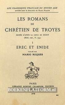 Les romans chretien de Troyes