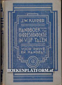 Handboek voor de correspondentie in vijf talen