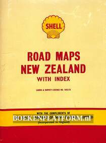 Road Maps New Zealand