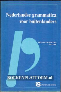 Nederlandse grammatica voor buitenlanders