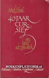 40 jaar cursief