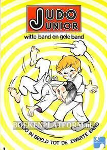 Judo junior witte band en gele band