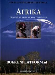 Afrika een indrukwekkend continent