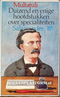 526 Duizend en enige hoofdstukken over specialiteiten