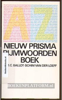 2570 Nieuw Prisma Rijmwoorden boek
