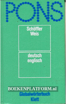 Pons Globalworter- buch Deutsch English