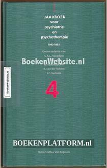Jaarboek voor psychiatrie en psychotherapie 1992-1993