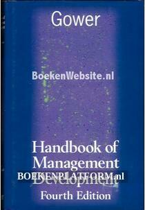 Handbook of Management Development