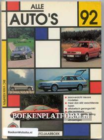 Alle auto's 1992
