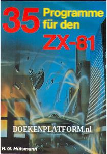 35 Programme für den ZX81