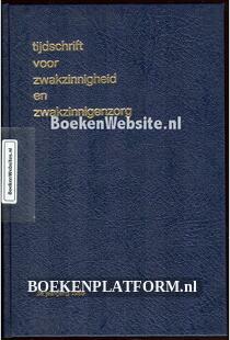 Tijdschrift voor Zwakzinnigheid en Zwakzinnigen zorg 1966