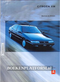 Citroen XM Berline & Break 1998 brochure
