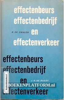 Effectenbeurs, effectenbedrijf en effectenverkeer