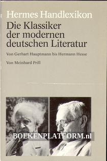 Die Klassiker der modernen deutschen Literatuur