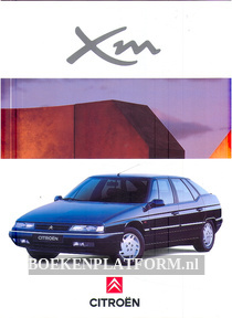 Citroen XM brochure 1994