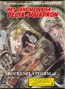 Tangy en Laverdure, Het geheimzinnige Delta-Squadron