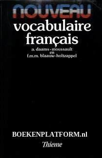 Nouveau vocabulaire francais
