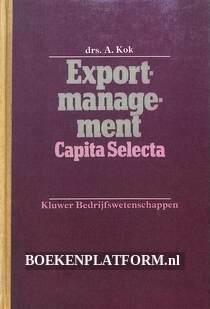 Export-management Capita Selecta