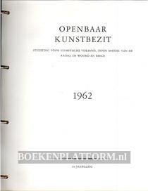 Openbaar kunstbezit 1962