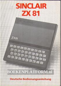 Sinclair ZX81 Spectrum Deutsche Bedieningsanleitung