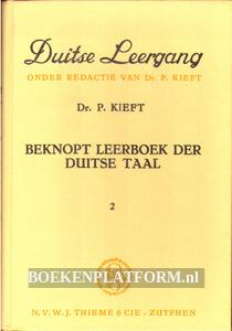 Beknopt leerboek der Duitse taal 2
