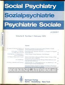 Social Psychiatry 1973