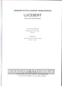 Modern Dutch Literary Manuscripts