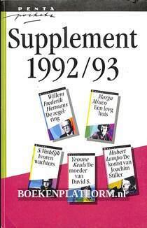 Penta Pockets supplement 1992/93