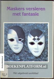 Maskers versieren met fantasie