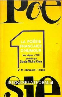 La poesie Francaise d'humor