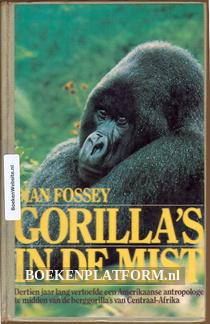 Gorillas's in de mist