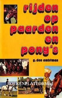 Rijden op paarden en pony's