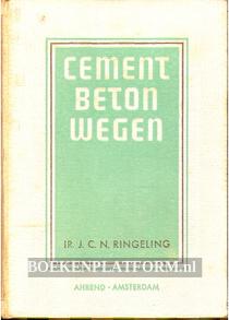 Cement beton wegen
