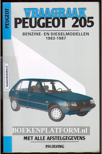 Vraagbaak Peugeot 205 Benzine- en Dieselmodellen 1983-1987