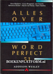Alles over Word Perfect 5.1