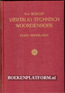 Ten Bosch technisch woordenboek Frans-Nederlands