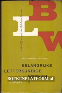 Belangrijke letterkundige werken 3