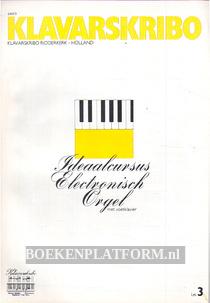 Ideaalcursus Electronisch Orgel met voetklavier les 3