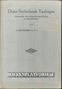 Duits-Nederlands Taaleigen