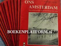Ons Amsterdam 1962 Complete jaargang