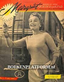 Ingebonden jaargang Margriet 01-1954