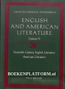English and American Literature II