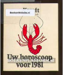 Uw horoscoop voor 1981 Kreeft