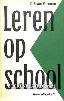 Leren op school