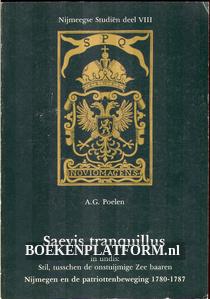 Nijmegen en de patriottenbeweging 1780 - 1787