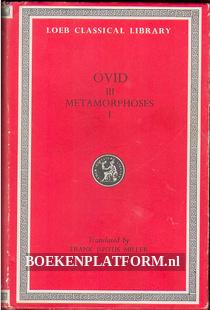 Ovid III Metamorphoses I