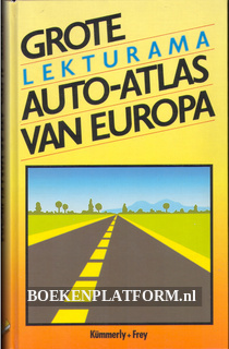 Grote auto-atlas van Europa